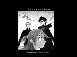 Takashi Komuro Knows... by Alexisisinneed