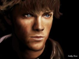 Sam Winchester-Supernatural by HorseLoverII