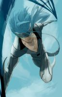 Grimmjow by He11Bringer