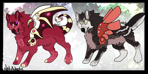 Angelic and Demonic Robos // OPEN! by NotAdopts