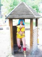 my cosplay Julie Dirty Pair by Michela1987