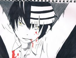 Death the Kid: Soul Eater II by Xilent-Strawberry