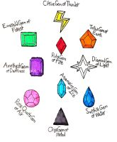Gems of the Elements by Quinto-Guardian