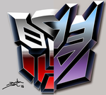 Autobot-Decepticon by magigrapix