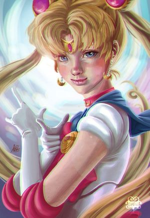 Sailor Moon by TheLittleGriffin