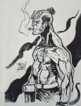 Hellboy commission by Nezart