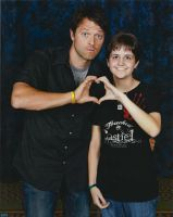 Misha Collins Photo-Op by ChaseYoungIsMine
