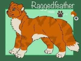 raggedfeather/cancer official ref. by gay-doq-nerd