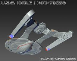 USS ICICLE / NCC-79823 W.I.P.-093 Textures by ulimann644