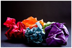 Your paper rainbow. by Pinkatron2000