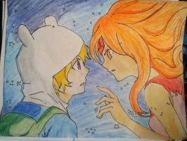 Fin x Flame Princess by Smichaelis21