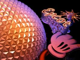 Epcot Spaceship Earth Stock 11 by AreteStock