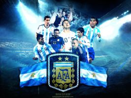 Argentina World Cup 2014 by KutayGraphic