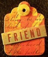 Tag - Word: Friend by Gracies-Stock