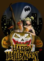 Happy Halloween! -Harley- by Soliduskim