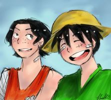 Let's Celebrate It Together! (Happy B-Day Luffy!) by Sogequeen2550