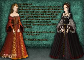 Princess Margaret vs. Princess Mary Tudor by LadyAquanine73551
