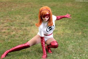 Elastigirl: Back in the Day by AnyaPanda