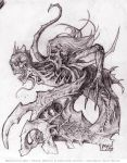 Something Odd- pencil version by andybrase
