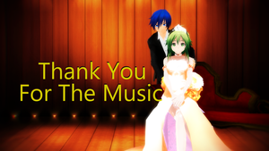 [Megpoid Gumi Cover] Thank You For The Music by Aoizuho