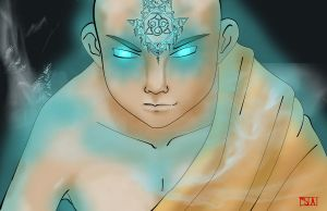Aang avatar state by swayanouk