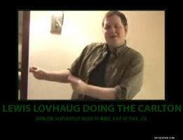 Lewis Lovhaug Does The Carlton Poster by Jyger85