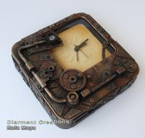 Steampunk Clock III by Diarment