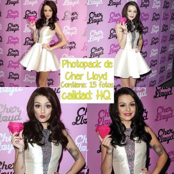 photopack de cher lloyd by YaquiEditions