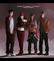 LoK Dance Krew by Marina-Shads