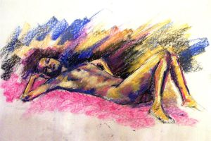 nude female by faithfulartist