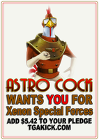 Astro Cock wants you by Irishmile
