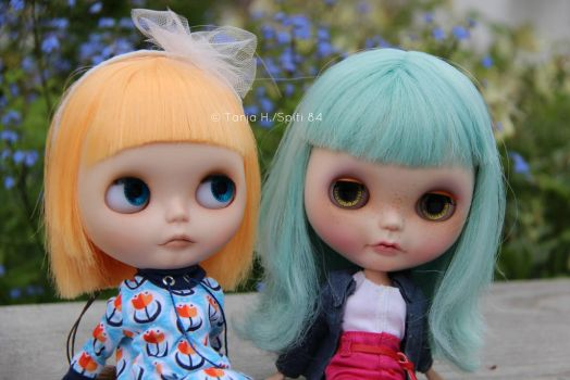 Camille, Neo Blythe Simply Mango and Peach by spiti84