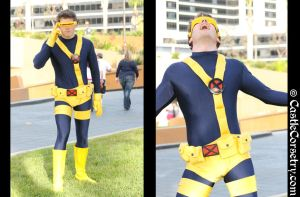 Cyclops Cosplay by CastleCorsetry