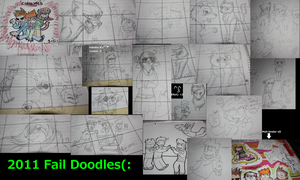 Fail Doodles of 2011 by CookiemonsterMS