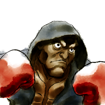 Balrog  - Mike Bison #2 by Frankqbe