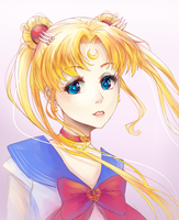 Sailor Moon by oWinTer