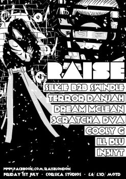 Accepted Poster Design for Raise by SpitSega