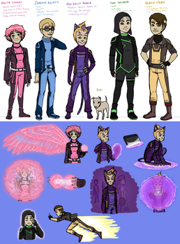 CL space AU concepts by A-queenoffairys