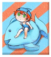Chibi Bluefish Redhead by Chocoreaper