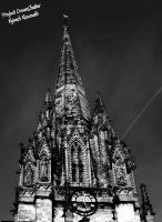 Christchurch Spire by VRoX