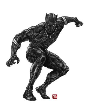 Black Panther by Keatopia