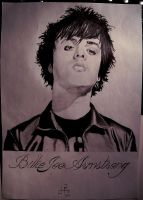 Billie Joe Armstrong by SniffGlue
