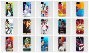 Society6 cases by setsuna22