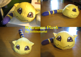 Nyaromon Plush by SethImmortal