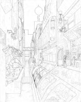 One-point, Perspective 2 by phowks