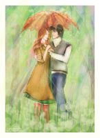 Sunny Rain by LilyRedHaired