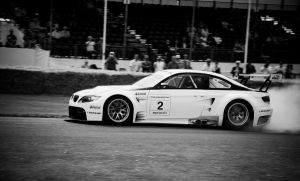 BMW M3 GT2 - Black and White by TVRfan