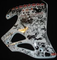Hardcore 101 Mx Gear Bike Wrap by 1980something
