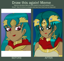 YGO: Before and After by ColorSplashArts