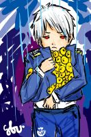 APH: Save the Chicks, Prussia by goldenblueviolets